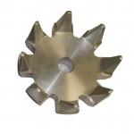 Particolare in alluminio ricavato da file 3D con CAD CAM